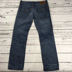 True Religion Ricky flap pocket denim jeans